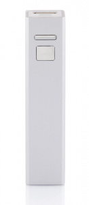 XD Collection power bank Backup 2,2 x 9,5 cm alu silver grey