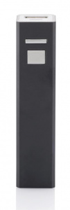 XD Collection power bank Backup 2,2 x 9,5 cm aluminium noir