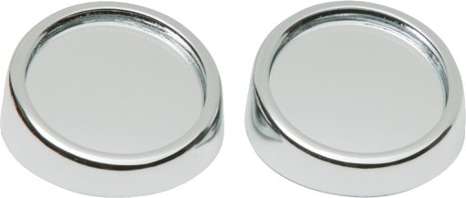 Car Plus dodehoekspiegels rond 45 mm chroom 2 stuks