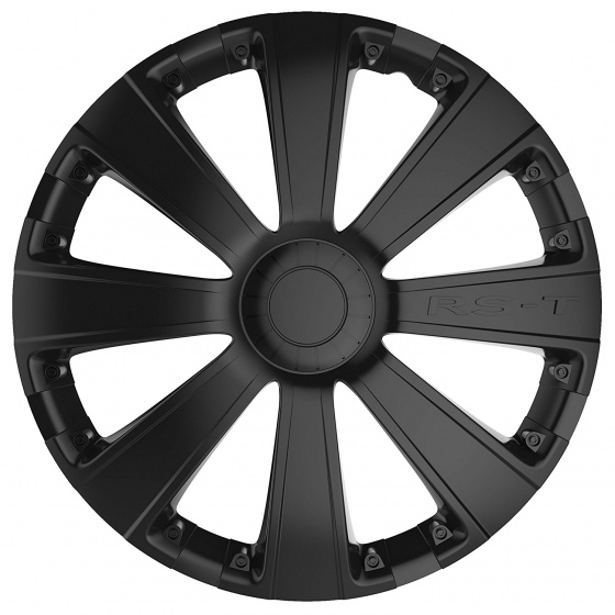 Car Plus wieldoppen RST 13 inch ABS zwart set van 4