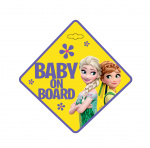 Disney autobord Frozen Baby on Board 13 cm